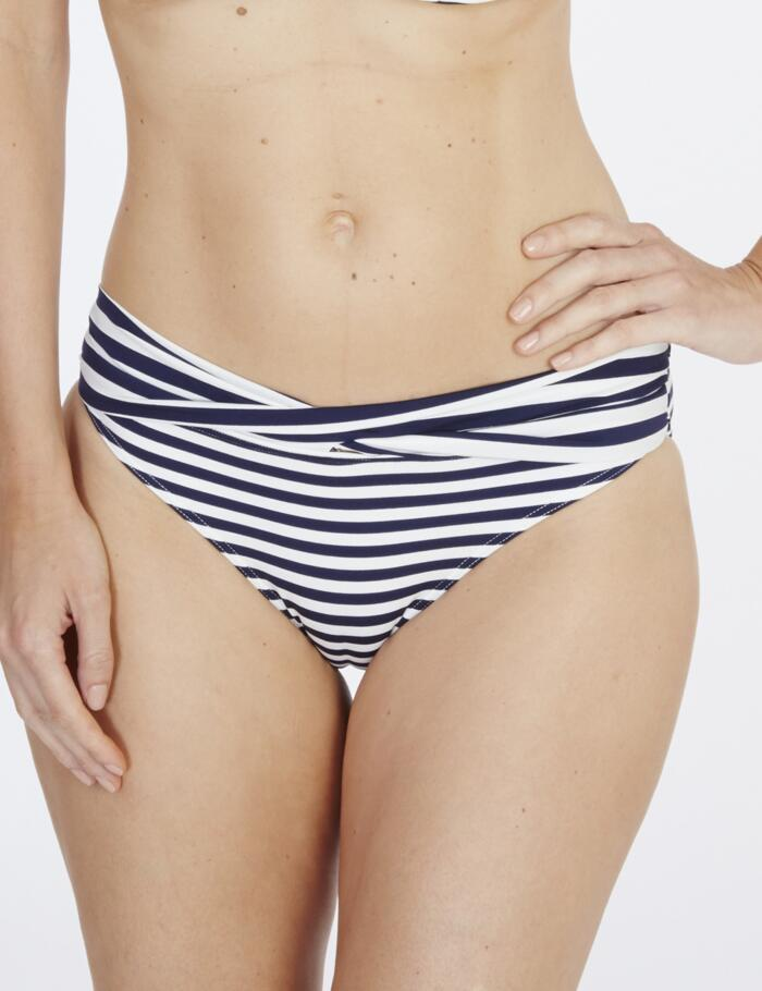 Lepel Beach Life Twist Bikini Bottoms - Navy