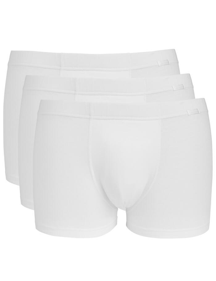 Jockey Cotton Plus Short Trunks - White