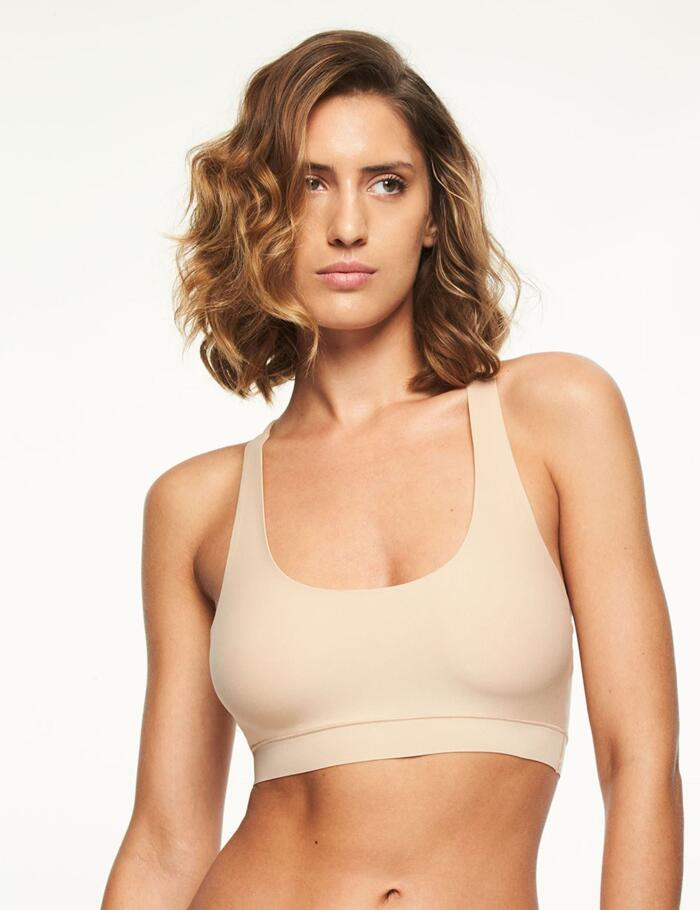 Chantelle Soft Stretch Crop Top - 26410 - Nude - WU