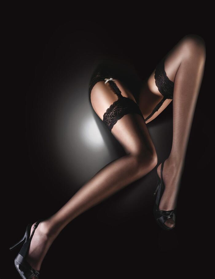 Aristoc Sensuous Stockings - Black