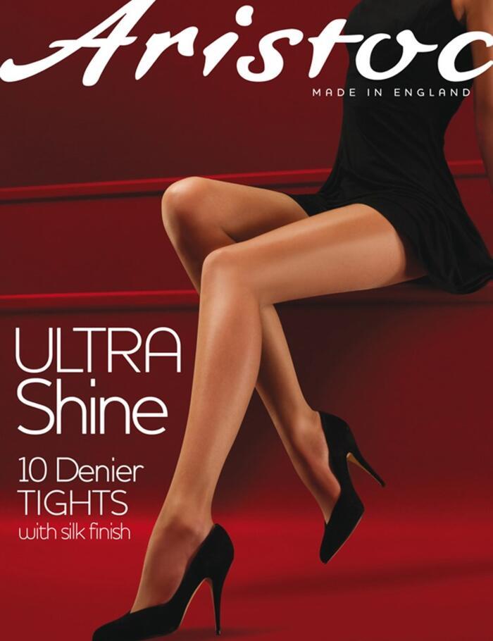 Aristoc Ultra Shine Tights - 10 Denier  - Nude
