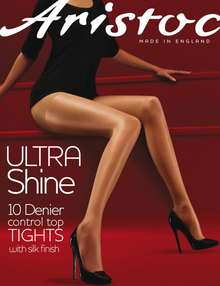 Aristoc Ultra Shine Control Top Tights - Nude