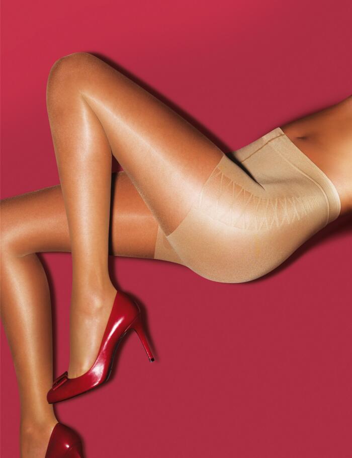 Aristoc Bodytoners Tum, Bum & Thigh Control Tights - Nude