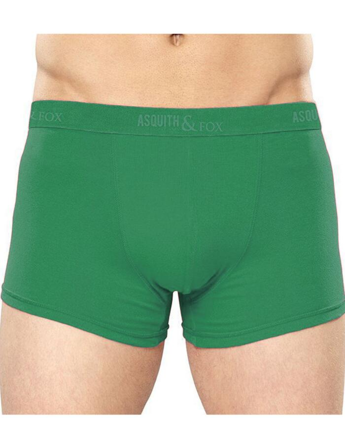 Asquith & Fox Boxer Shortie - 2 Pack - Kelly Green