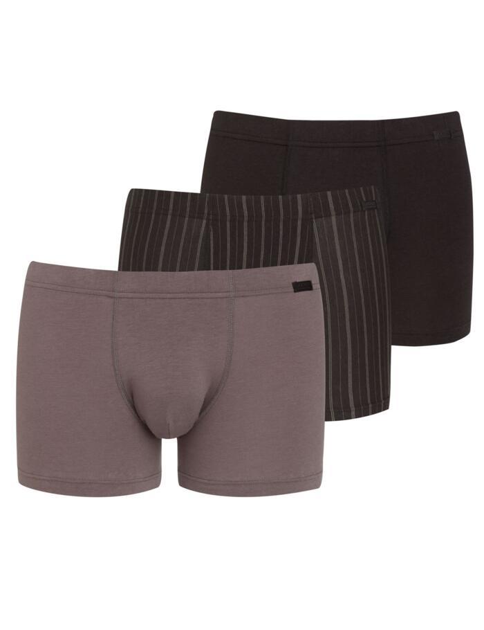 Jockey Cotton Plus Short Trunks - Greys 974