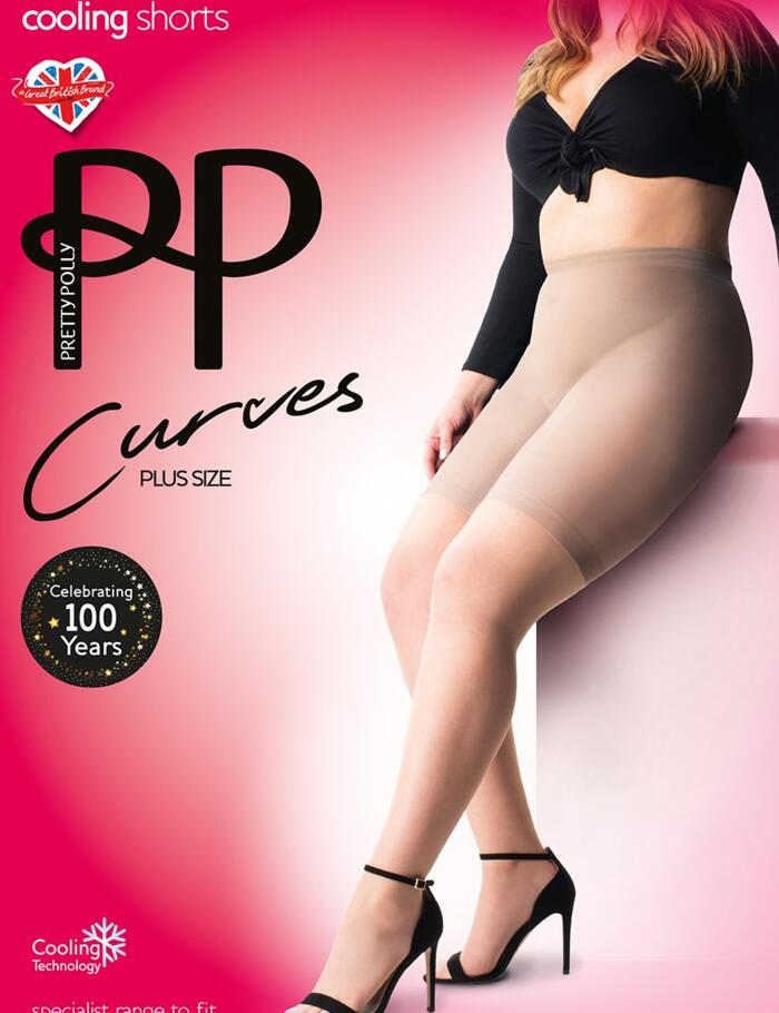Pretty Polly Curves Cooling Shorts - Nude