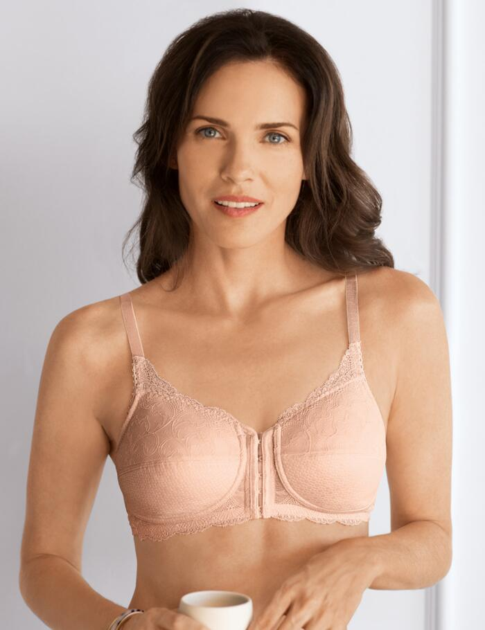 Amoena Ellen Non Wired Bra - Rose Nude