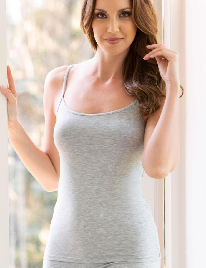 Charnos Second Skin Thermal Camisole Vest - New Grey