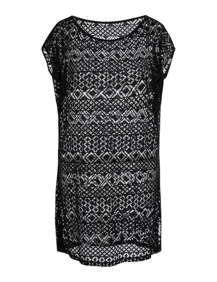 Ameona Menorca Tunic Sun Dress - Black