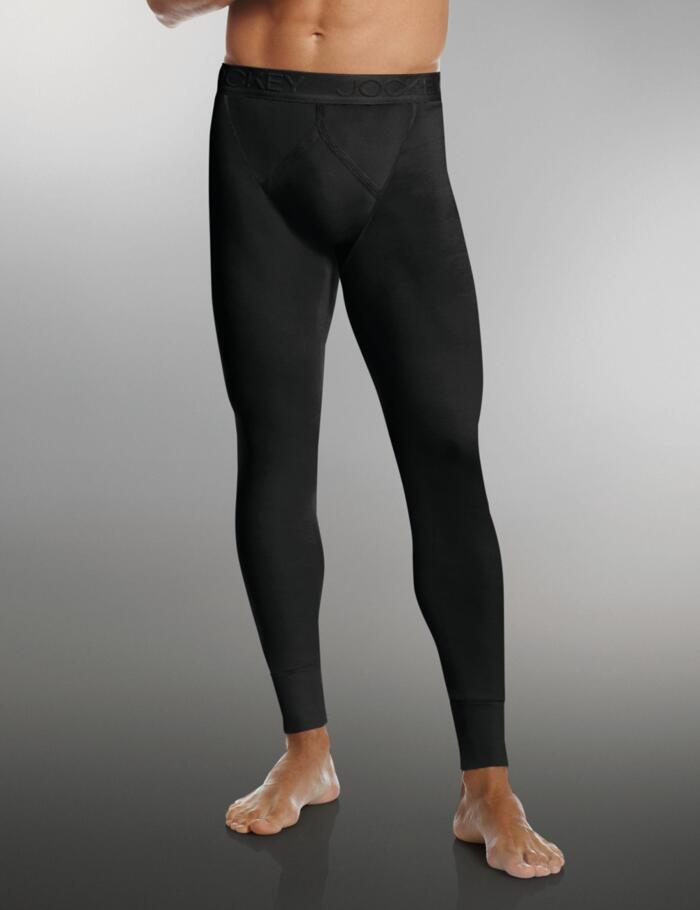 Jockey Modern Thermals 1550 Y-Front Long - Black