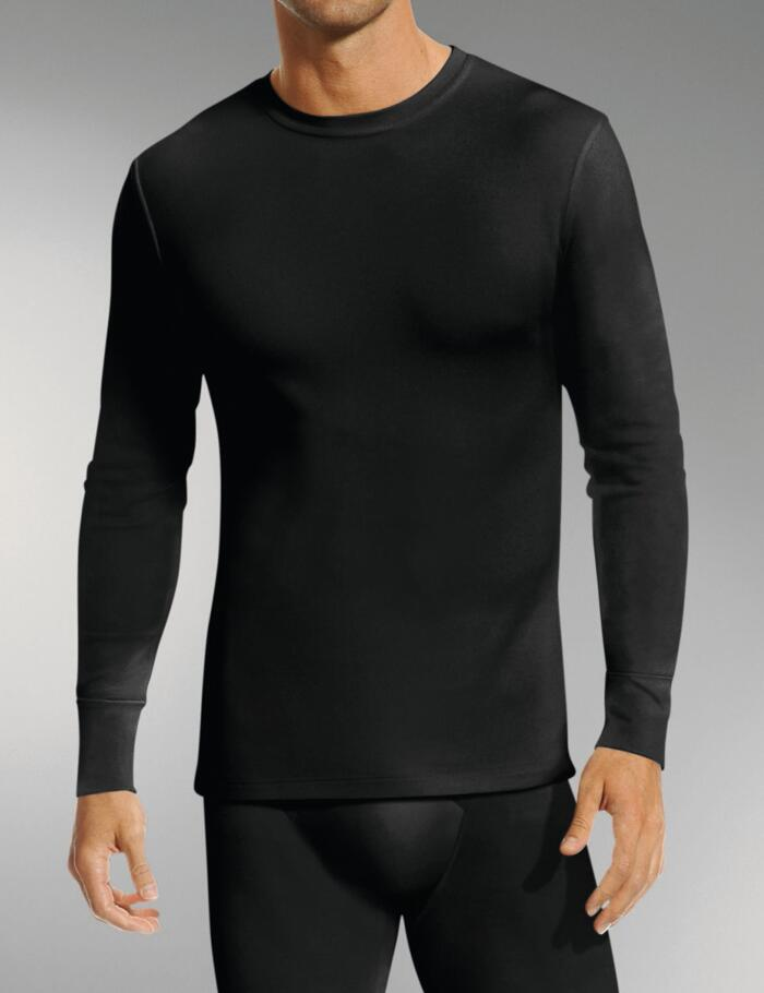 Jockey Modern Thermals 1550 Long Sleeve - Black