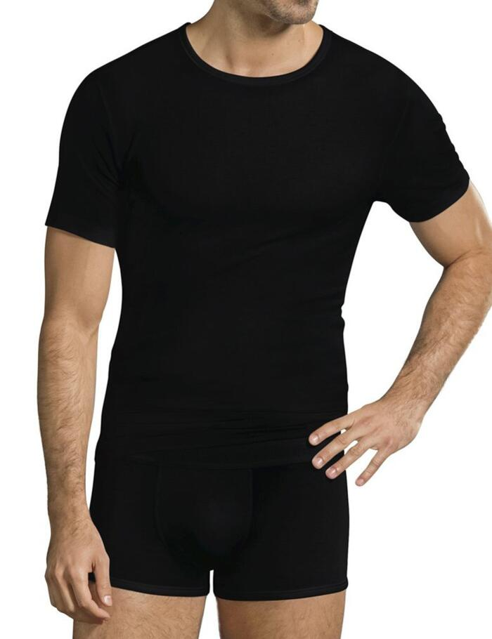 Jockey Premium Cotton Stretch T Shirt - Black