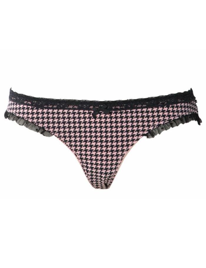 Jockey City Lights Bikini Briefs - Dogtooth Pink