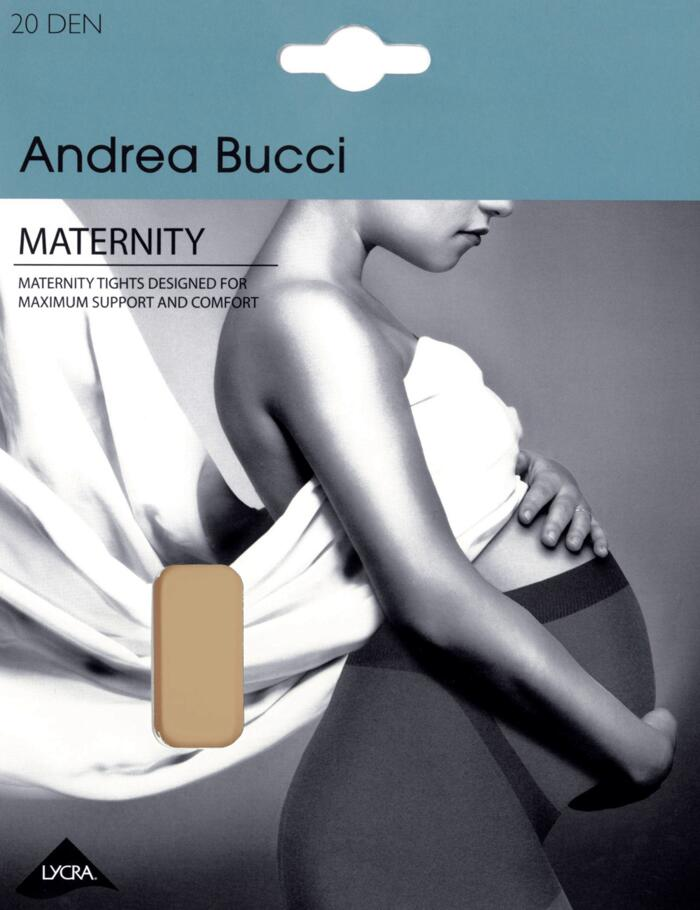d4ab54781d08e Andrea Bucci Maternity Tights - 20 Denier - Natural