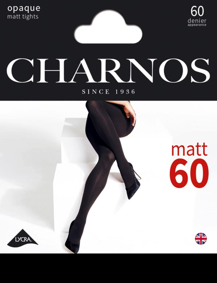 Charnos 60 Denier Tights - CAAX - Black