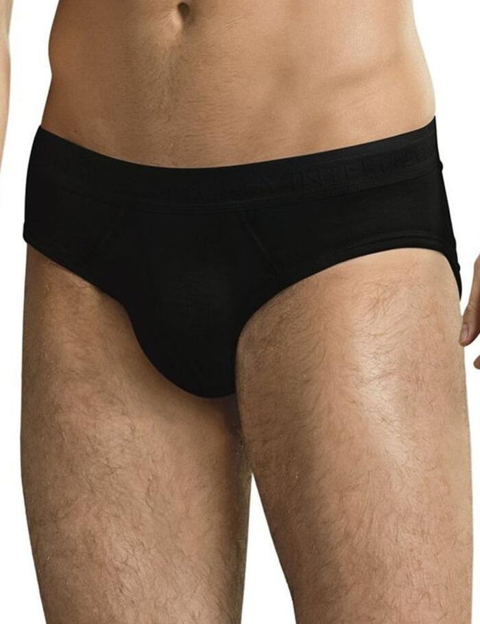 Jockey Premium Cotton Stretch Briefs  - Black