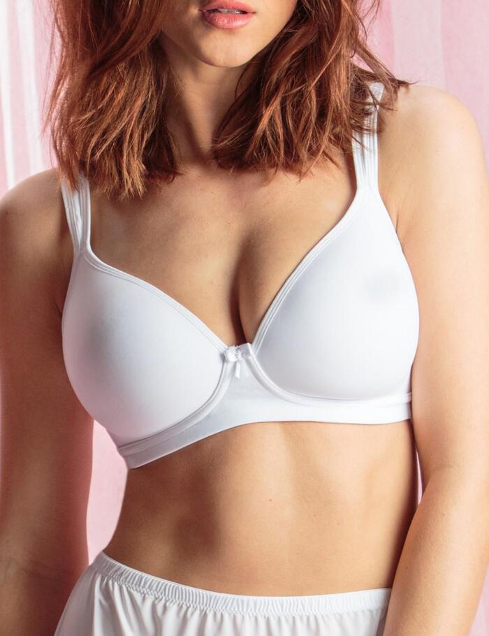Pour Moi Non Wired T Shirt Bra - 3824 - White
